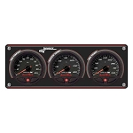 Longacre Accutech SMI 3 Gauge Panel - Oil Pressure and Temp, Water Temperature