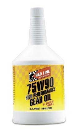 Red Line 75W90 Gear Oil - Quart Bottle