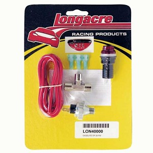 Longacre Oil Pressure Warning Light Kit - 20 PSI, #40000